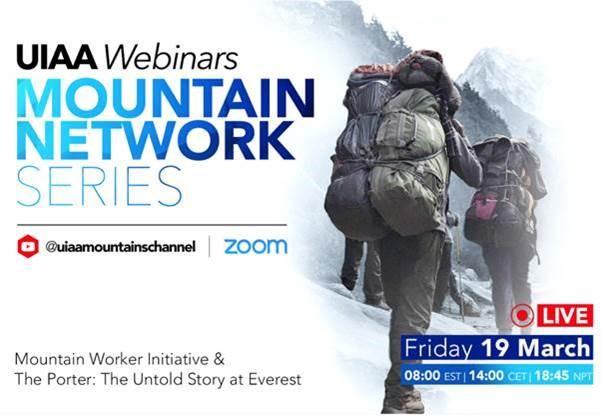 UIAA Mountain Network Series / Mountain Worker Initiative Webinar - 19 March 2021